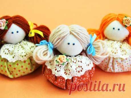 Простая кукла-зерновушка своими руками - мастер класс + видео! Простая кукла-зерновушка своими руками делается очень легко и просто! Это самый прекрасный вариант для новичков! Смотрите МК и работа станет еще проще!