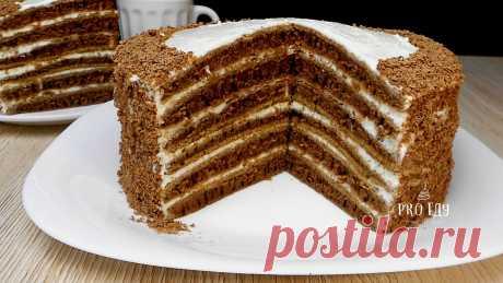 Никто не верит, что этот торт я готовлю на сковороде. Получается почти как бисквитный.   Pro еду   Яндекс Дзен