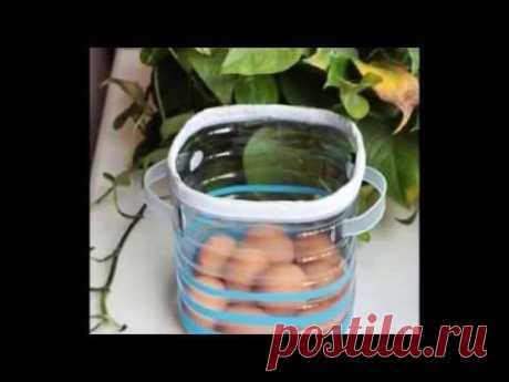 Полезные поделки из пластиковых бутылок  Поделки своими руками