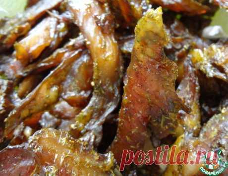 Куриные чипсы из бёдрышек – кулинарный рецепт