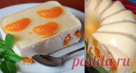 ЗВАНЫЙ УЖИН: Творожное бланманже: вкуснейший десерт стройняшек!
