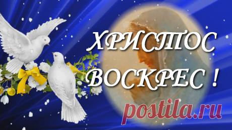 Христос Воскрес! Поздравление с Праздником Светлой Пасхи!   INTERes Это короткое музыкальное видео поздравление с Пасхой Христовой, это видео открытка. 🔔🔔🔔 Вы можете поздравить от себя Ваших друзей, родных и близких, коллег с этим великим и светлым Днем Пасхи. Светлой пасхи Вам друзья! Пасхальные поздравления для Вас! #спасхой !