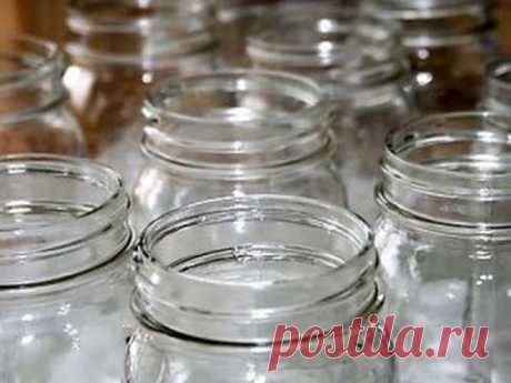Correctly we sterilize the jars for house preparations