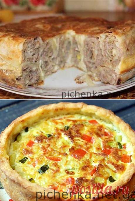 Пирог «Крестьянский»    Вкусные рецепты