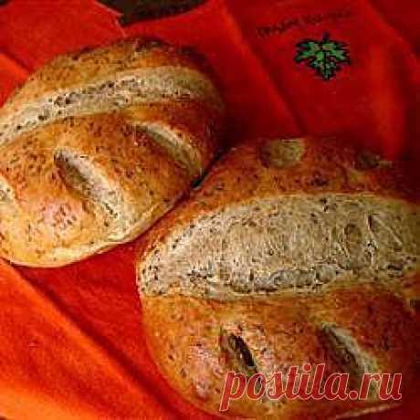Рецепт: Ржаной хлеб с укропом - все рецепты России