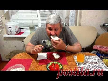 Вкуснейшая намазка на хлеб  из сала и чеснока - по украински. Легкие закуски