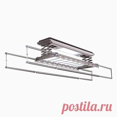 FOA-YG-1706AМногофункциональная умная сушилка для белья с электроприводом обогревом светодиодной подсветкой и вентиляцией Функция: остановка при блокировке, воздушная сушка, подъем одним нажатием, стерелизация , светодиодная подсветка Хост: 1,3 метра Длина удилища: 2,2 метра Цвет: BMW мокрый асфальт Материал: алюминиевый сплав Размер : 1300 * 300 * 73 мм Грузоподемность : 40 кг Мощность света: 18 Вт УФ мощность: 5 Вт * 2