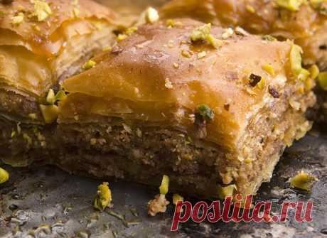 Пахлава: рецепт восточной сладости - tochka.net
