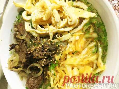 Кукси по-корейски - рецепт с фото пошагово