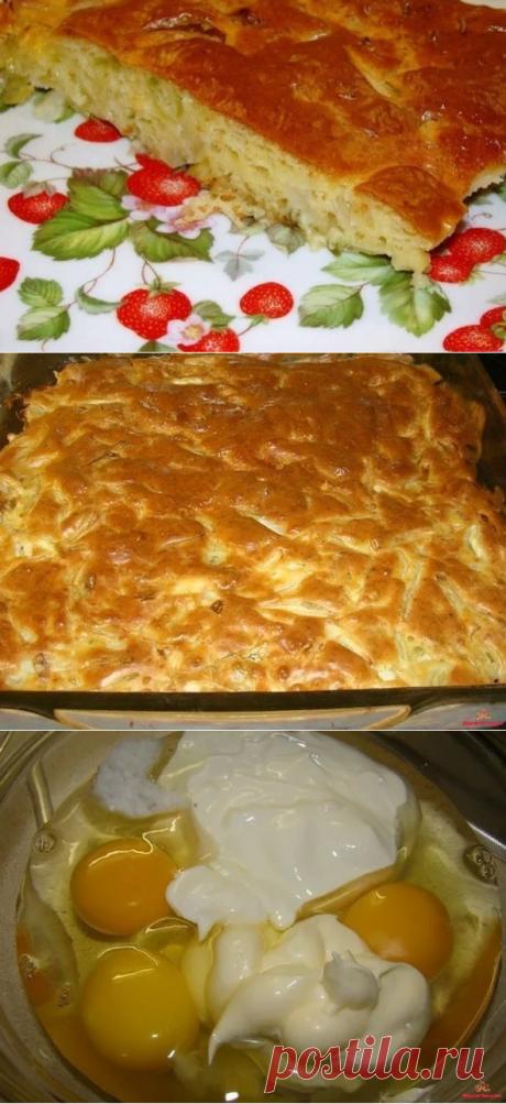 Ленивый пирог с капустой, проще просто не бывает ! | Вкусно! Быстро! | Яндекс Дзен