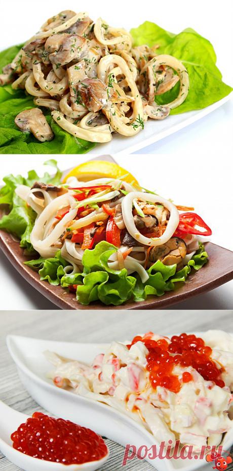 Блюда из кальмаров: секреты приготовления