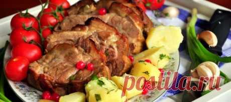 Мягкое, сочное и румяное блюдо: свинина по-охотничьи — Готовим дома