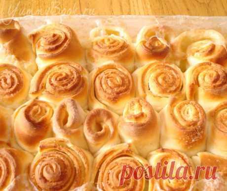 Осиное гнездо - венгерские булочки, печёные в молоке. - пошаговый рецепт с фото...://yummybook.ru/