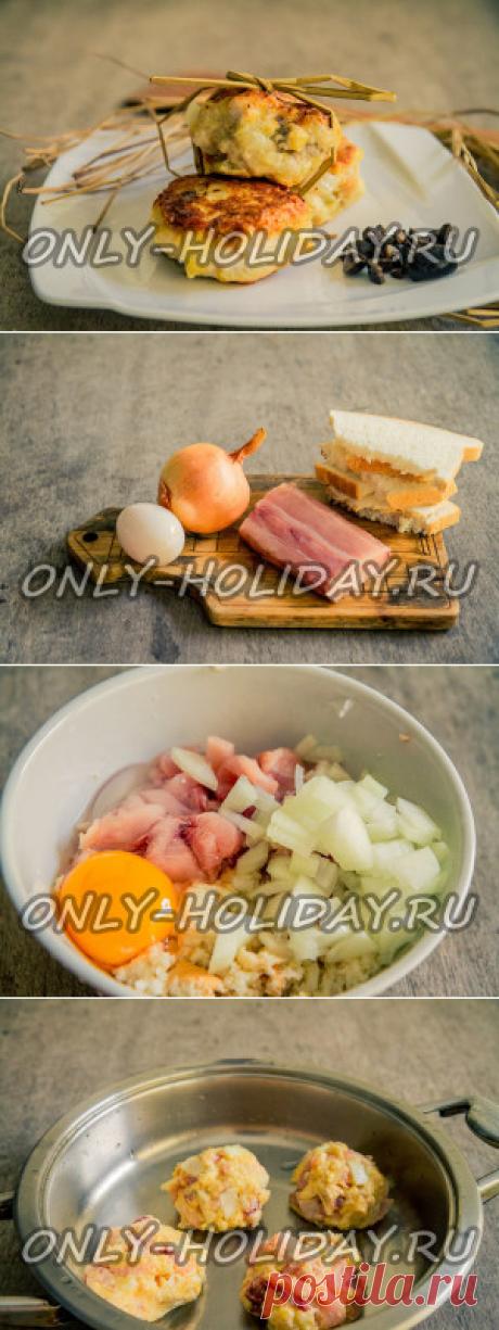 Вкусные котлеты из рыбы: рецепт с фото
