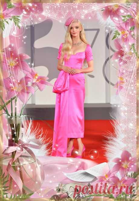 Аня Тейлор-Джой в розовом платье в Венеции | Вокруг интернета | Яндекс Дзен