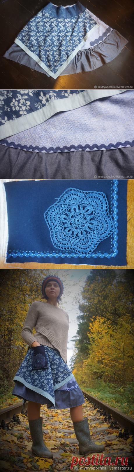 Шьем юбку в бохо стиле - Ярмарка Мастеров - ручная работа, handmade