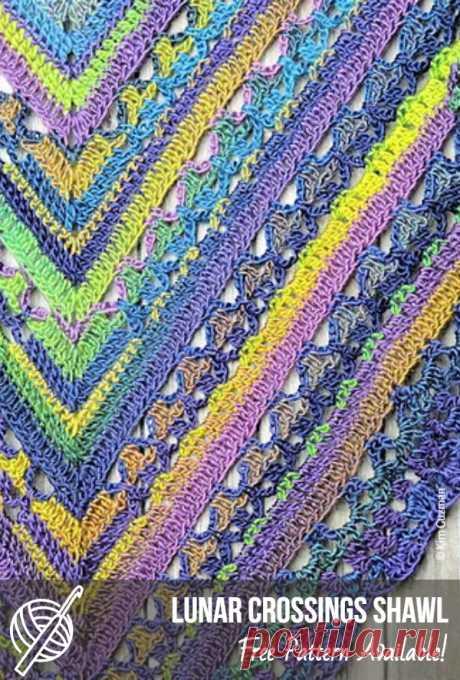 Triangular Free Crochet Scarf Patterns   Patterns Center #crochetscarfpattern #freecrochetpattern #scarf