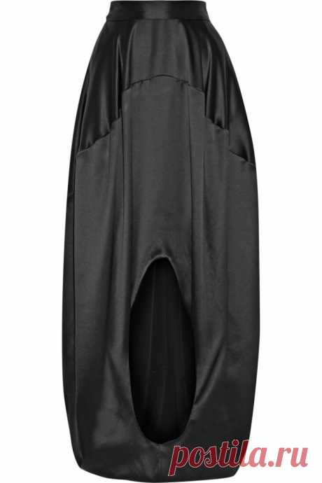 """""""Круглая юбка"""" Оскар де ла Рента Модная одежда и дизайн интерьера своими руками"""