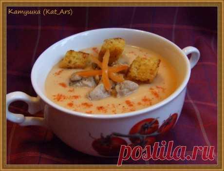 Суп-крем овощной с сыром | Русская кухня