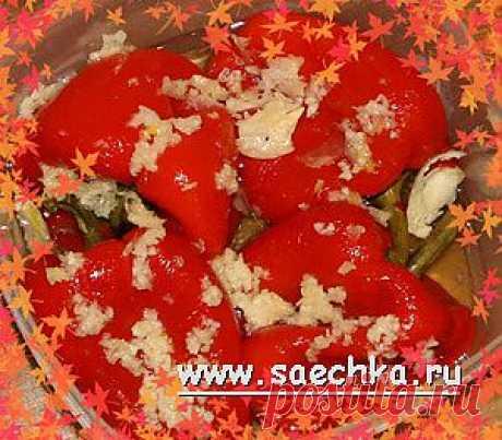 Маринованный красный сладкий перец | Saechka.Ru - рецепты с фото