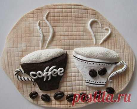 Панно из кофе: поделки своими руками
