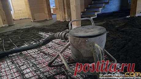 Область применения полусухой стяжки при выполнении строительных и ремонтных работ