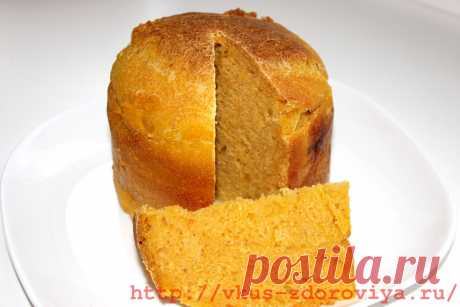 Рецепт приготовления вкусного тыквенного домашнего хлеба в духовке   vkus-zdoroviya.ru