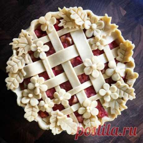 Как красиво оформить закрытые пироги