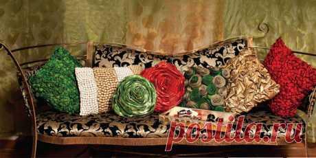 Декоративные подушки в интерьере | Всё о моде, стиле, шитье и рукоделии СЛИЯНИЕ СТИЛЕЙ