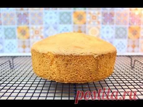El bizcocho clásico \/ Vanilla Sponge Cake