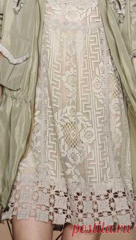 Филейные платья от Anna Sui spring 2011. Обсуждение на…