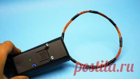 Металлоискатель из обычного пульта своими руками 6Нередко в укромных местах дома валяется рабочий пульт дистанционного управления от телевизора. Не спешите его выбрасывать. Из него можно соорудить …
