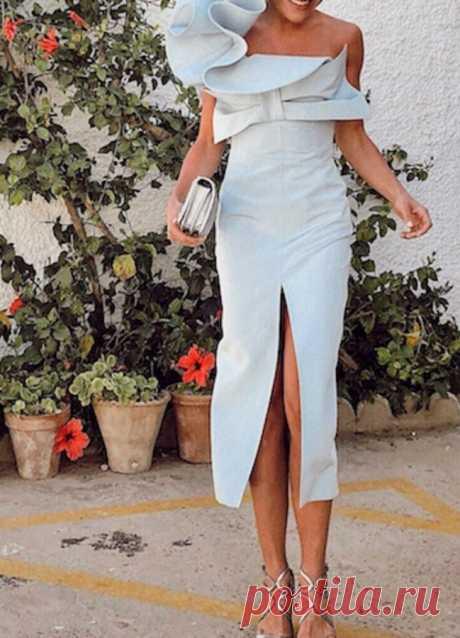 Восхитительные платья в нежном цвете — Модно / Nemodno