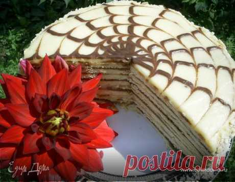 """Торт """"Идеальный"""" для ленивых и очень занятых. Без выпечки, на сковороде"""
