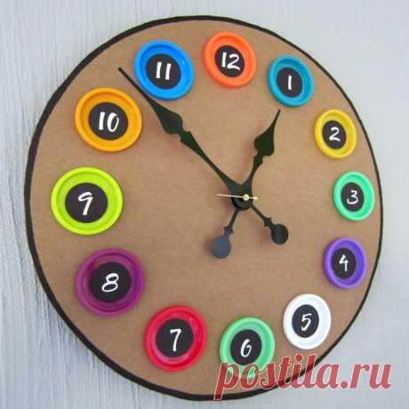 Часы для детской МК / Мастер классы по декору / PassionForum - мастер-классы по рукоделию