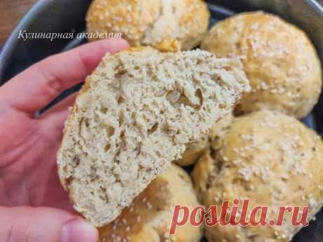 Гречневые булочки (получаются пышные и очень вкусные) | Кулинарная академия | Яндекс Дзен