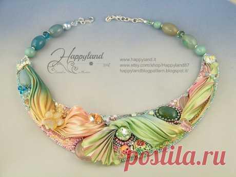 Шибори - ожерелья, браслеты и кулоны