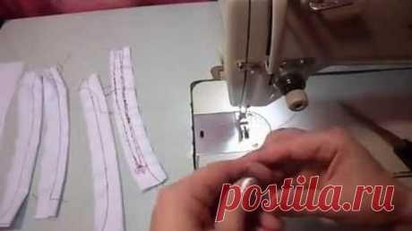Настройка натяжения ниток в швейной машинке
