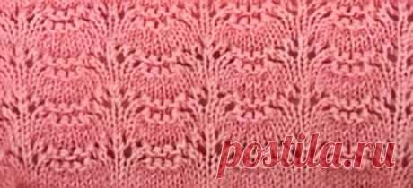 Нежнейший узор для Кардигана, блузки, джемпера, свитера и др. Один из моих любимых узоров | Вязание и Рукоделие | Яндекс Дзен