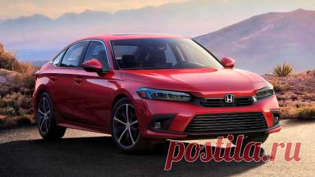 Honda Civic 2022: серийная версия седана 11-го поколения