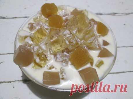 Десерт «Битое стекло в снегу» — когда хочется вкусненького, но, чтобы не тяжёлое - Ваши любимые рецепты - медиаплатформа МирТесен