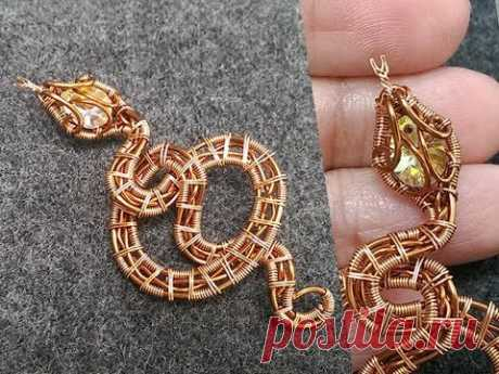 Змея кулон без камня отверстия-Хэллоуин ювелирные изделия идея 264