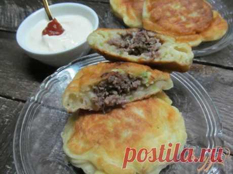 Кабачковые ленивые пирожки с фаршем — пошаговый рецепт с фото