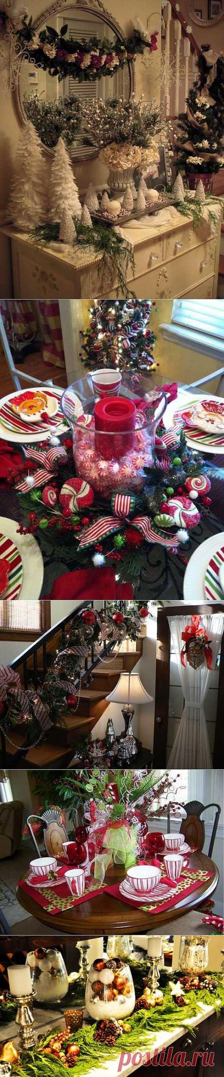 Как украсить комнату к Новому году — 30 фото | My Milady