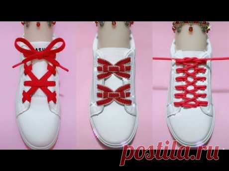20 Creative Ways to fasten Shoelaces - Cool ideas how to tie shoe laces #4