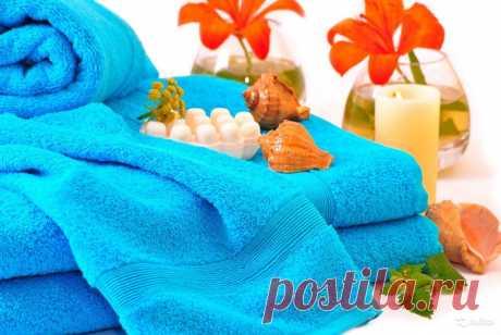 Чтобы полотенце не пахло сыростью - простой и эффективный способ » Женский Мир