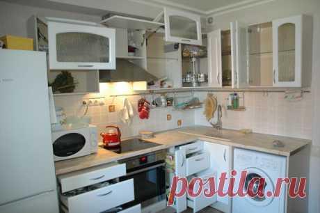 Кухня удобная, практичная и ласкающая взор жены