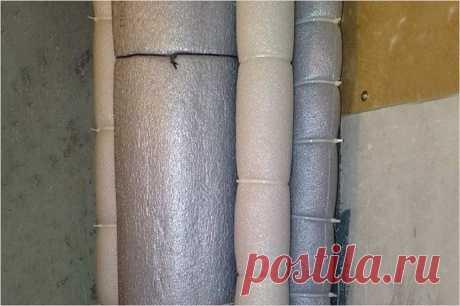 Как сделать шумоизоляцию канализационных труб своими руками