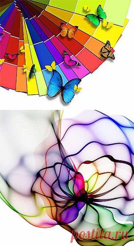 Цвет нашей жизни. Немного о психологии цвета.