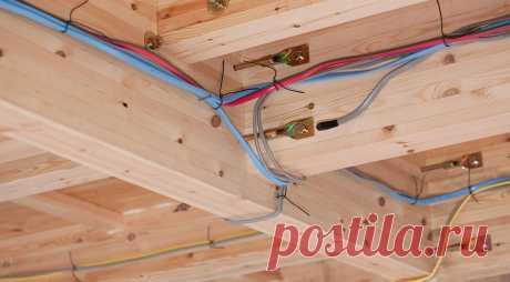 Проводка в деревянном доме: как избежать пожара Чтобы в деревянном доме не возник пожар, нужно правильно смонтировать проводку. Как это сделать в согласии с требованиями ПУЭ? Даем развернутый ответ.